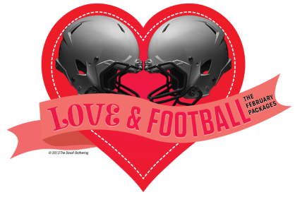 Love & Football — TSG's February Packages